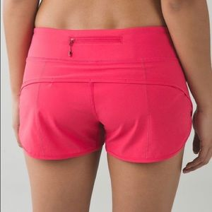 "Lululemon 2.5"" Speed Shorts"